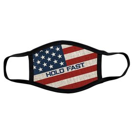 Face Mask: Hold Fast, Flag