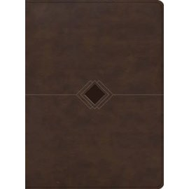RVR60 Biblia Cronologica Dia por Dia, Marron Simil (Day-by-Day Chronological Bible, Brown LeatherTouch