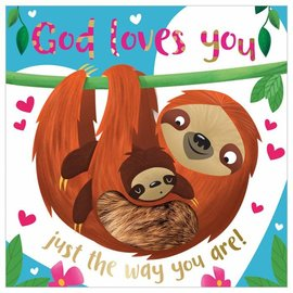 God Loves You Just the Way You Are, Book + Plush Sloth