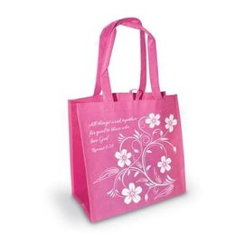 Tote Bag - All Things Work Together, Pink