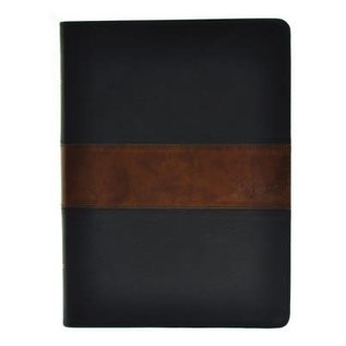 CSB Spurgeon Study Bible, Black/Brown LeatherTouch