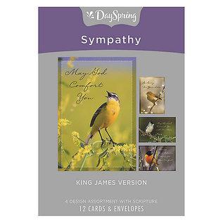 Boxed Cards - Sympathy, Birds