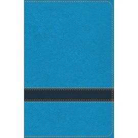 KJV Study Bible For Boys, Ocean/Navy LeatherTouch