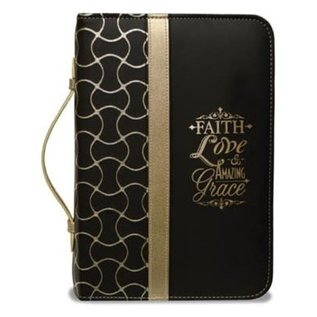Bible Cover - Faith Love & Amazing Grace