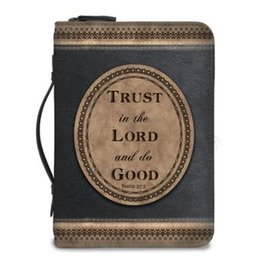 Bible Cover - Trust in the Lord and Do Good