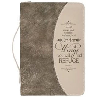 Bible Cover - Under His Wings