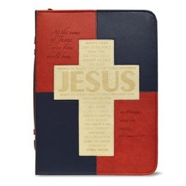 Bible Cover - At the Name of Jesus