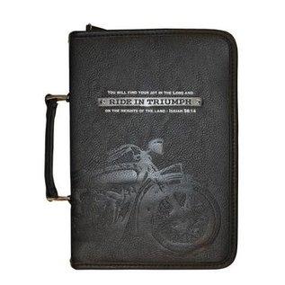 Bible Cover - Ride in Triumph