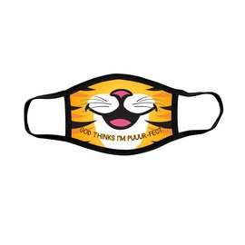 Youth Face Mask: Tiger