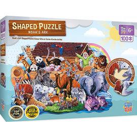 Shaped Puzzle - Noah's Ark (100 Piece)