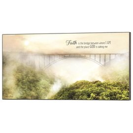 Wall Art - Faith is the Bridge