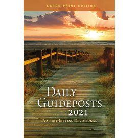 Daily Guideposts 2021: A Spirit-Lifting Devotional, Large Print Edition Paperback