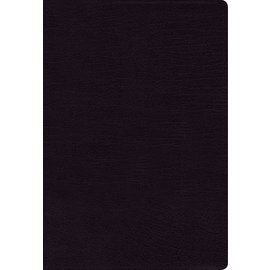 NASB Thinline Bible, Black Bonded Leather, Indexed