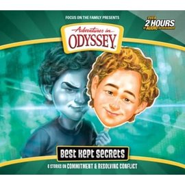 AudioBook - Adventures in Odyssey #69: Best Kept Secrets (2 CD)