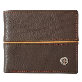 Wallet - Hope is an Anchor, Brown