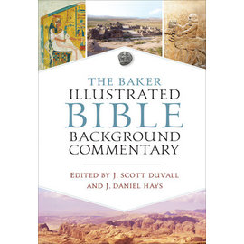 The Baker Illustrated Bible Background Commentary, Hardcover