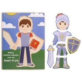 Puzzle - Armor of God, Build a Boy (6 Pieces)