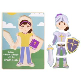 Puzzle - Armor of God, Build a Girl (6 Pieces)