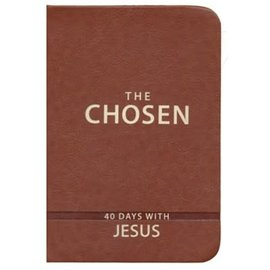 The Chosen: 40 Days with Jesus, Brown Imitation Leather