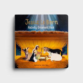 Jesus is Born Nativity Ornament Book