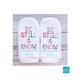 Standing on the Word Socks - Be Still