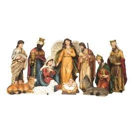 Nativity - 11 Piece, 6.5 in tall
