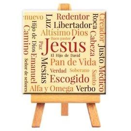 Mini Canvas - Names of Jesus (9cm)