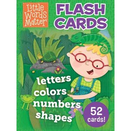 Little Words Matter Flashcards: Letters, Colors, Numbers, Shapes