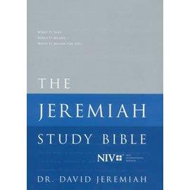 NIV Jeremiah Study Bible, Hardcover