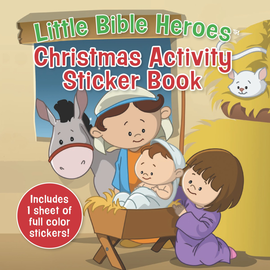 Little Bible Heroes: Christmas Activity Sticker Book