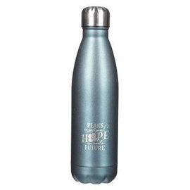 Stainless Steel Water Bottle - Hope and Future (17 Oz)