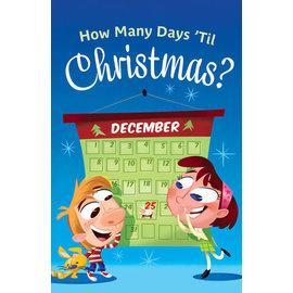 Good News Bulk Tracts: How Many Days 'Til Christmas?