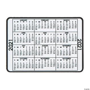 2021 Wallet Calendar