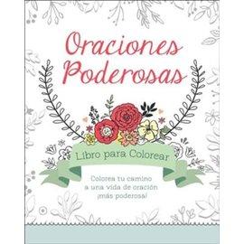 Power Prayers Adult Coloring Book, Spanish (Oraciones Poderosas Libro Para Colorear)