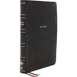 NKJV Super Giant Print Reference Bible, Black Leathersoft, Indexed