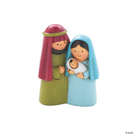 Tiny Holy Family Figurine