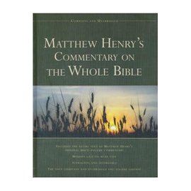Matthew Henry's Commentary on the Whole Bible, Hardcover