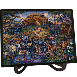 Noah's Ark Picture Perfect Puzzle (60 pieces) w/frame & stand