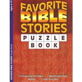 Favorite Bible Stories Puzzle Book, Ages 6-10