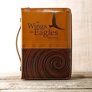 Bible Cover - Wings Like Eagles, Large