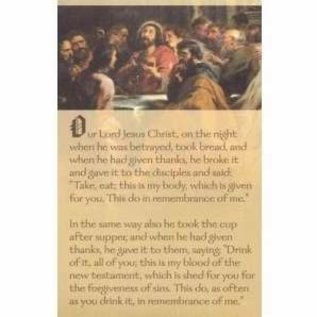Bulletins: Last Supper, 8.5x14