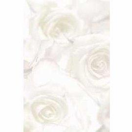 Wedding insert: 1/2 sheet White Roses
