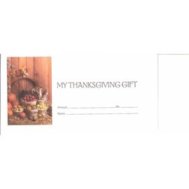Offering Envelopes: My Thanksgiving Gift (100 count)