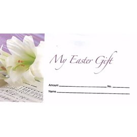 Offering Envelopes: My Easter Gift, Flower (100 count)