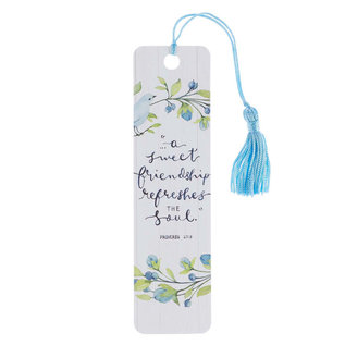Bookmark - Sweet Friendship, Tassel