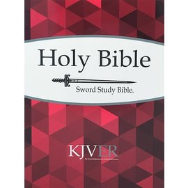 KJVer Large Print Personal Size Sword Study Bible, Paperback