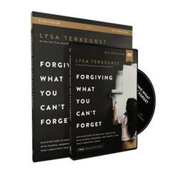 Forgiving What You Can't Forget (Lysa TerKeurst), DVD and Study Guide