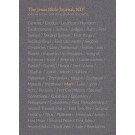 NIV The Jesus Bible Journal: Mark