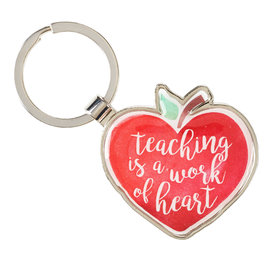 Keyring - Teaching is a Work of Heart