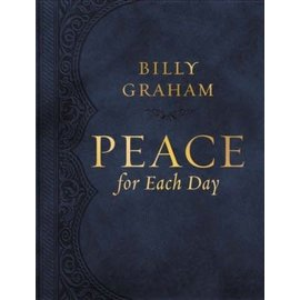 Peace for Each Day, Large Print (Billy Graham), Leathersoft
